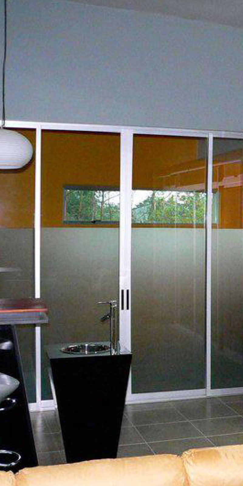 Sistema de puertas estilo tradcional