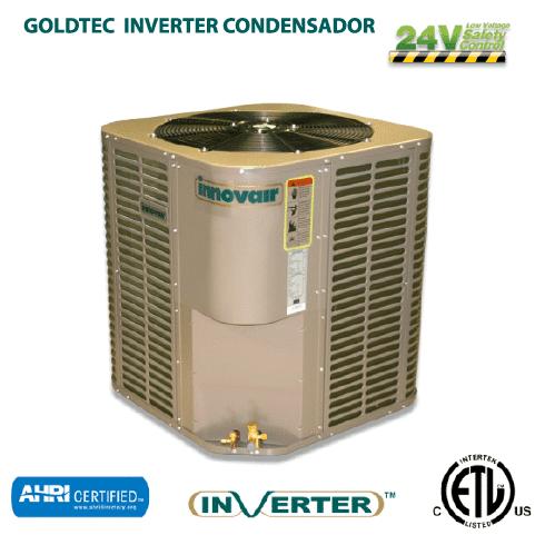Aires acondicionados comerciales: Innovair Goldtec Inverter Condesador